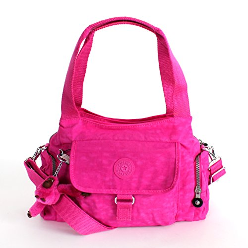 Kipling Fairfax Large Shoulder Bag Crossbody Bag, Breezy Pink