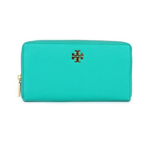 Tory Burch Mercer Zip Continental Wallet, Deep Biscay