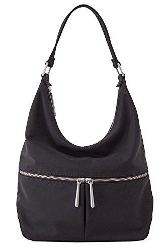 Hobo Handbags Durafiber Urban Legend Shoulder Bag – Black