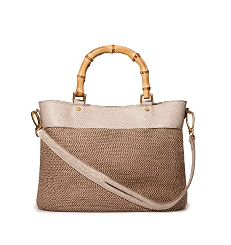 Eric Javits Women's Analu Handbag One Size Bark