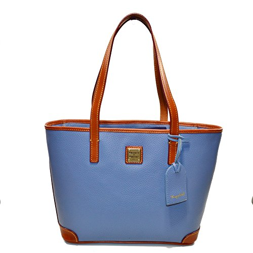 Dooney & Bourke Pebble Leather Dusty Blue Charleston