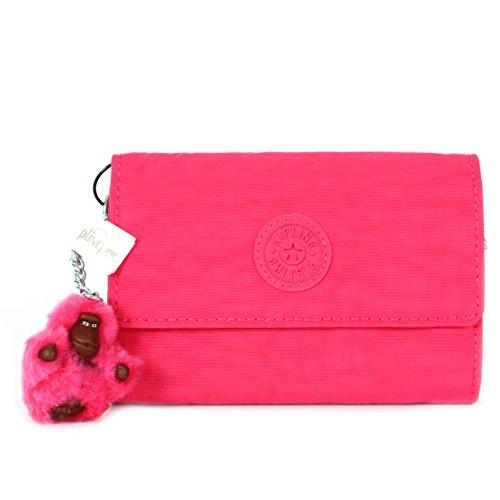 Kipling Pixi Medium Wallet, Vibrant Pink