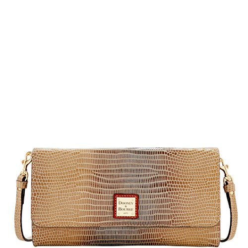 Dooney & Bourke Tallulah Crossbody Clutch, Taupe