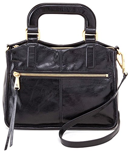 Hobo Handbags Vintage Leather Adley Crossbody – Black