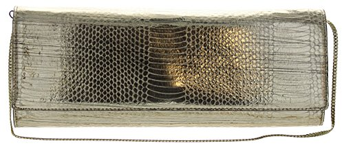 Vince Camuto Women's Jaden Clutch Gold