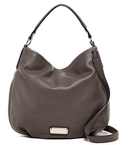Marc by Marc Jacobs New Q Hillier Convertible Hobo (Faded Aluminum/Silver)