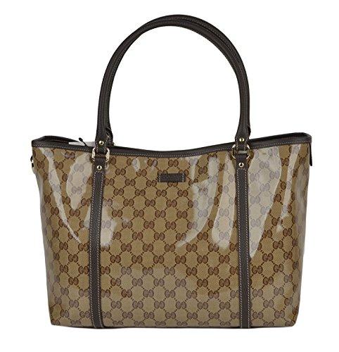Gucci Bag 265695 Joy Signature Crystal GG Guccissima Logo Tote Shopper