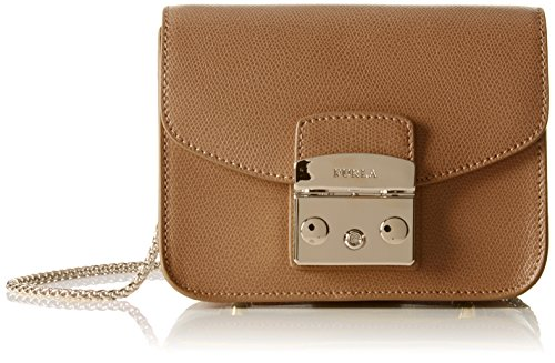 Furla Women's Metropolis Mini Cross Body Bag, Noce, One Size