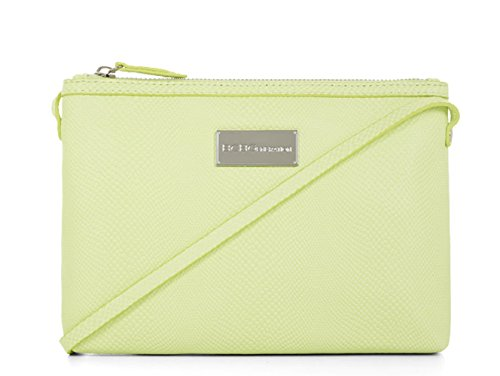 BCBGeneration Zoey Neon Yellow Crossbody