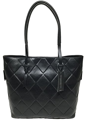 Tignanello In Knots Tote, Black, T56707