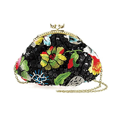 Mary Frances 'Birds Nest' Mini Handbag