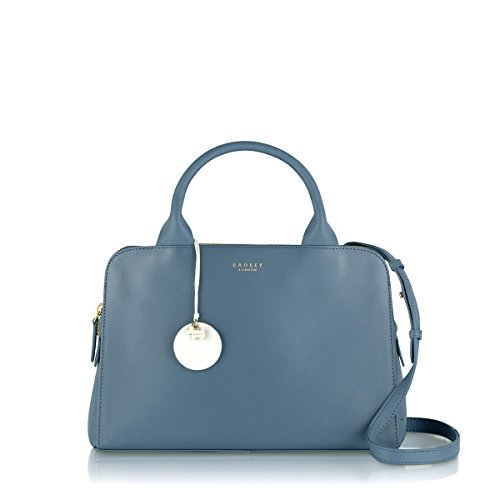 RADLEY LONDON WOMEN'S LEATHER MILLBANK SATCHEL HANDBAG