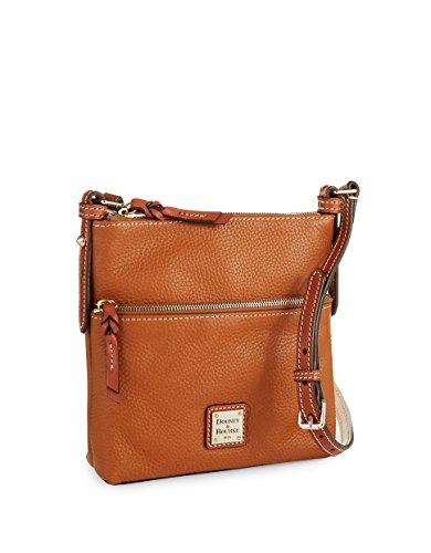 Dooney & Bourke Leather Letter Carrier – Caramel