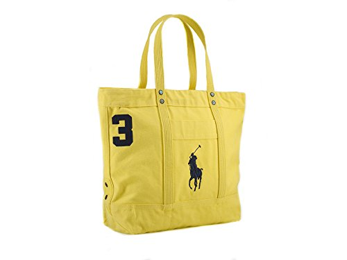 Polo Ralph Lauren Large Pony Tote Bag Yellow