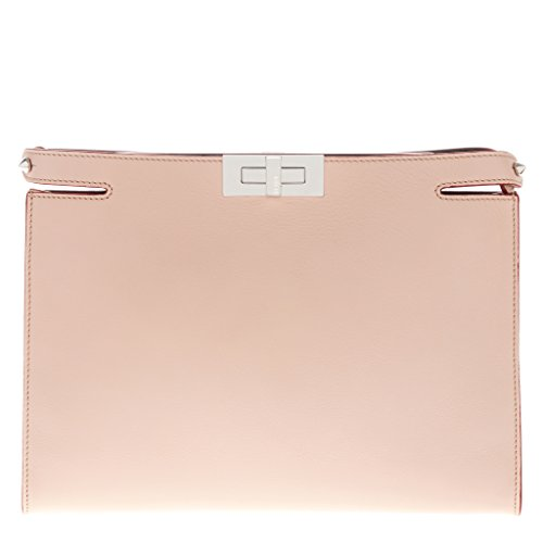 Fendi Women's Peekaboo Clutch Blush