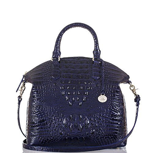 Brahmin Large Duxbury Satchel, Ink