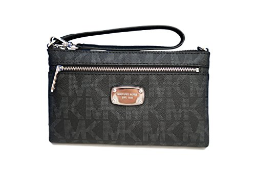 Michael Kors Jet Set Item Large Wristlet – Black
