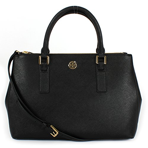 Tory Burch Robinson Mini EW tote Black (36881)