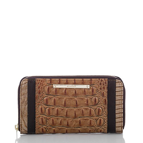 Brahmin Suri Genuine Leather Wallet (Toasted Almond)