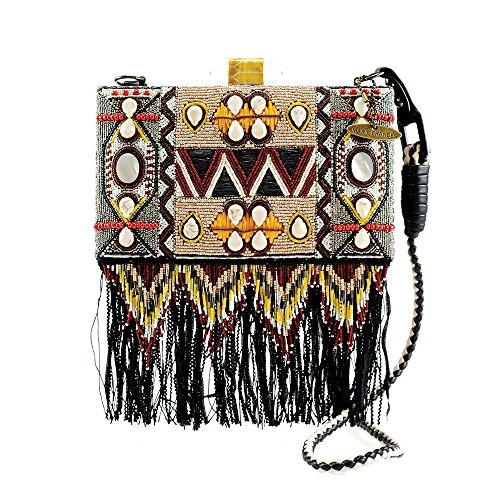 Mary Frances Tiki Room Embellished Handbag