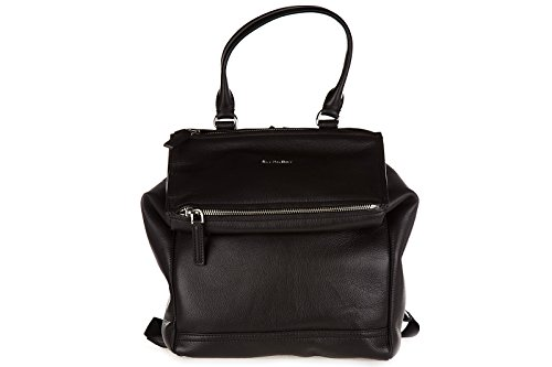 Givenchy women's leather rucksack backpack travel pandora black