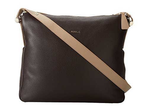 Furla Daisy Large Convertible Hobo (Coffee/Petalo)