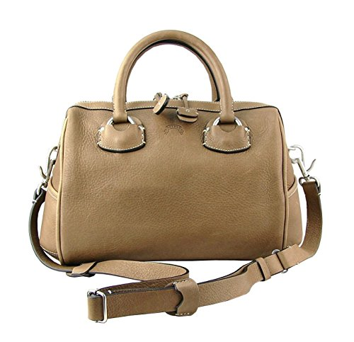 Ghurka Goa Military Khaki Satchel Purse 100% Natural Leather Brand New
