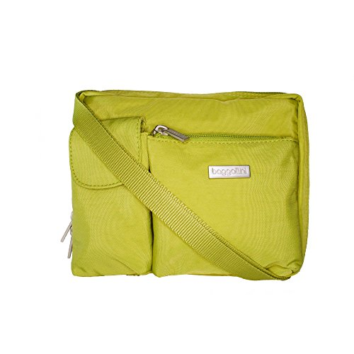 Baggallini Large Wallet Bag, Cactus Green, Crossbody/Shoulder Bag