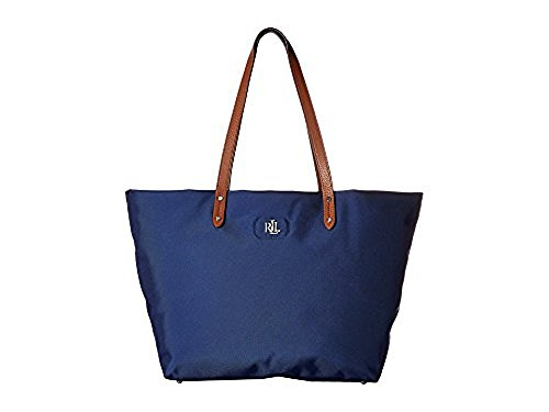 LAUREN Ralph Lauren Bainbridge Tote Bright Navy Tote Handbags