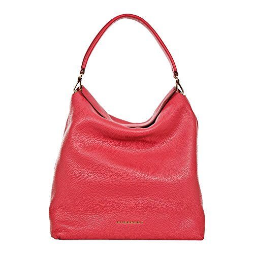 Burberry Medium Leather Hobo Bag – Pink Azalea