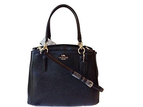 COACH Crossgrain Leather Minetta Crossbody Shoulder Bag