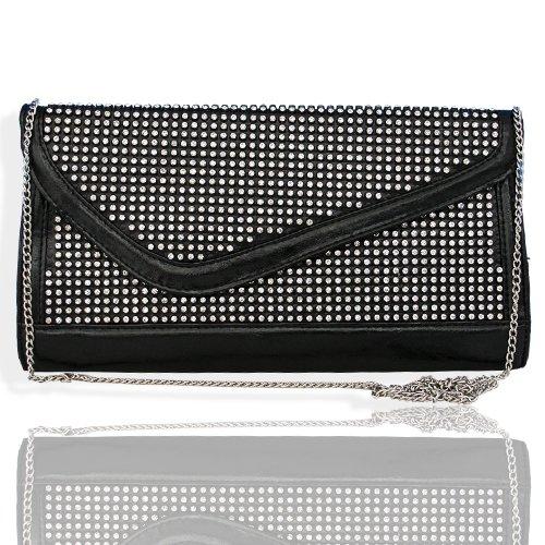 HOT!!! DESIGNER BLING Rhinestone & Crystal Studded Clutch/Case/Evening Bag by Jersey Bling