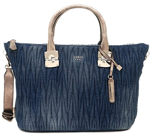 GUESS Women's Keegan Tote Bag, Denim