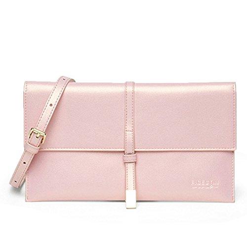 FIGESTIN Girls Leather Crossbody Bag Wallet Adjustable Shoulder purse Bags
