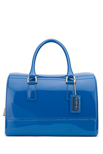Furla Candy Medium Satchel M Bluette Blue