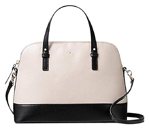Kate Spade New York Grand Street Colorblock Small Rachelle Convertible Satchel (Pebble/Black)