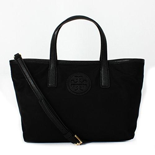 Tory Burch Nylon E/W Tote (Black) Style NO. 36871
