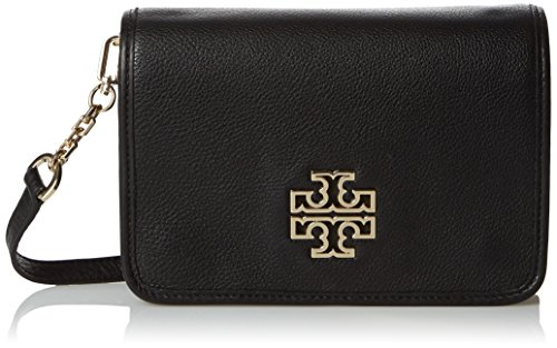 Tory Burch Britten Combo Crossbody Bag, Black Style 29877