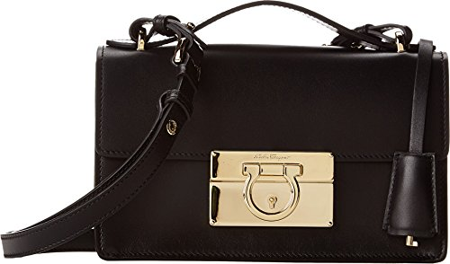Salvatore Ferragamo Women's 21E665 Aileen Nero Shoulder Bag