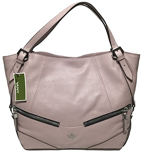 orYANY Bella Leather Shoulder Bag, Antique Rose