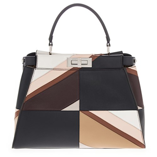 Fendi Women's Color-Block 'Peekaboo' Satchel Multicolor