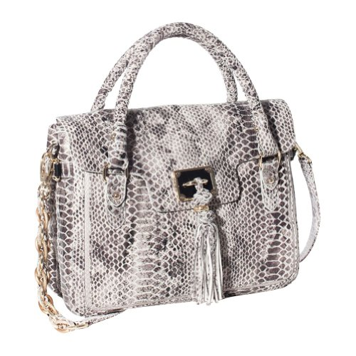 Elliott Lucca Cordoba Shoulder Bag Exotic Front Flap Tote Handbag