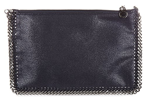 Stella Mccartney women's clutch handbag bag purse newpurse falabella blu