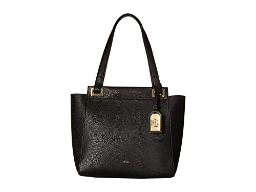 LAUREN Ralph Lauren Carslisle Afton Shopper Black Handbags