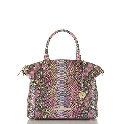 Brahmin Duxbury Satchel Berry Opal Seville Bag