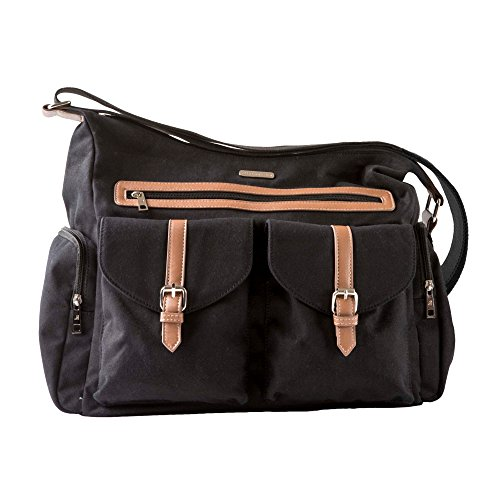 Little Unicorn Rambler Satchel Diaper Bag – Obsidian