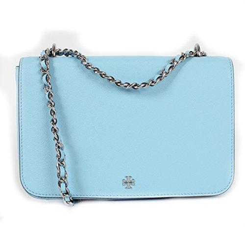 Tory Burch Robinson Chain Mini Bag, Riviera Blue