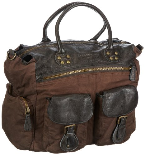 Liebeskind Sana Handbag Women's Brown Size: 54x50x4 cm (B x H x T)