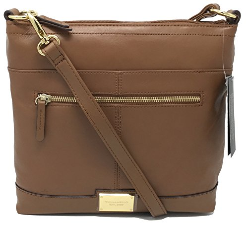 Tignanello Pretty Chic Large Cross Body w/RFID Protection, Saddle, A279958