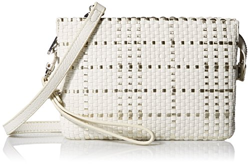 Vince Camuto Cami Convertible Crossbody Bag, Snow White/Snow White, One Size